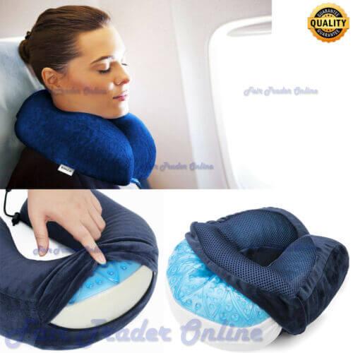 Harley Cool Gel Memory Foam Neck Pillow