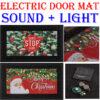Electric door mats